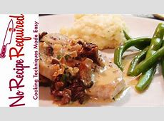 veal with cream sauce_image