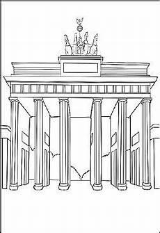 Kinder Malvorlagen Zum Ausdrucken Berlin Brandenburger Tor Als Malvorlage Ausmalbilder