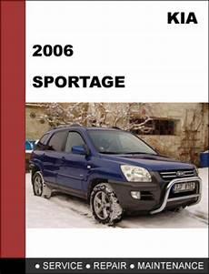 manual repair autos 2006 kia sportage electronic toll collection kia sportage 2006 oem service repair manual download download man