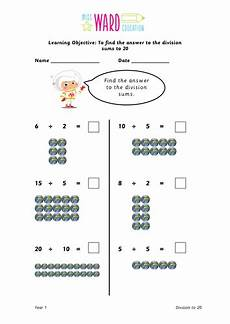 year 1 division to 20 by supersparkles teaching