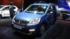 2018 Peugeot Partner Tepee Electric Exterior And