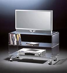 tv tische hochwertiger acryl glas tv wagen tv tisch mit 4