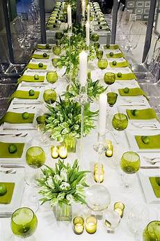 tablescape in 2019 lime green weddings green table