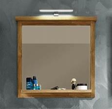 bad spiegel 80 cm mit ablage eiche alteiche hell