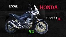 Fabike Essai Honda Cb500x 2019 Lors D Une Sortie Moto
