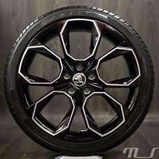 skoda 19 inch alloy wheels octavia 5e rs xtreme summer