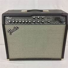 Fender Cyber Deluxe Solid State Guitar 65 Watts Reverb