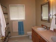 behr gobi desert w oak cabinets master bath bath oak cabinets