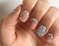 rhinestone nail design pictures photos and images for