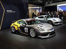 Porsche Cayman Gt4 Clubsport - 2016 porsche cayman gt4 clubsport races into la auto show