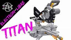 scie 192 onglet radiale 1 800 w titan