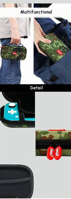 Ipega Sl020 Camouflage Portable Protection Storage by Ipega Sl020 N Switch Lite Storage Bag Camouflage Portable