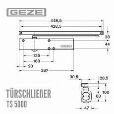 geze t 252 rschlie 223 er ts 5000 mit gleitschiene f 252 r