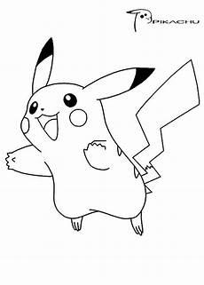 Malvorlagen Pikachu Pikachu Coloring Pages Jumping Ausmalbilder