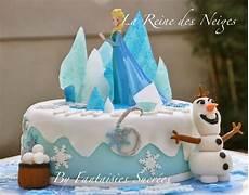 recette gateau reine des neiges facile fantaisies sucr 233 es la reine des neiges g 226 teau d anniversaire 3d p 226 te 224 sucre