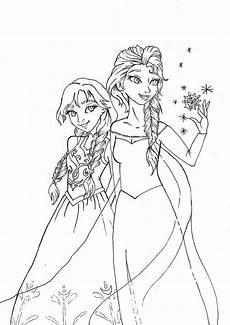 Frozen Malvorlagen Ausmalbilder Zum Ausdrucken Kostenlos Und Elsa