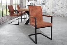 freischwinger stuhl mit armlehne design freischwinger stuhl bristol vintage light brown mit