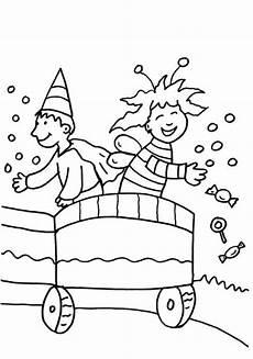 Malvorlagen Fasching Kinder Kostenlose Malvorlage Karneval Fasching Fastnacht