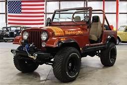 1979 Jeep CJ 7 Renegade 60177 Miles Russet Orange