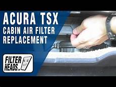 acura tsx air filter how to replace cabin air filter acura tsx