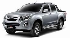 isuzu d max fahrwerk isuzu d max facelift launched in malaysia three trim