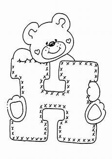 Ausmalbilder Mit Buchstaben Ausmalbilder Buchstaben H Stickerei Alphabet