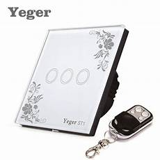 yeger eu standard smart wall switch remote control switch
