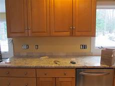 tumbled marble backsplash completed today total labor cost