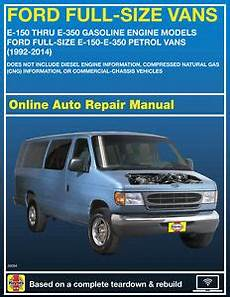 car repair manual download 1998 ford club wagon electronic valve timing 1998 ford e 350 econo club wagon haynes online repair manual select access ebay