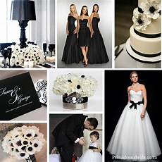 wedding colours and black primadonna