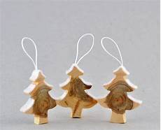 wooden decorations made from juniper tree