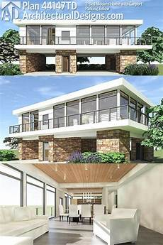 modern stilt house plans modern house design 2 floor modern house plans