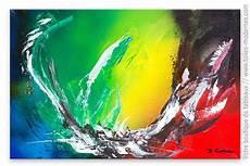 peinture tableau moderne tableau abstrait couleur vive