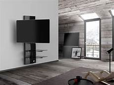 support mural pour tv meliconi ghost design 3000 r noir supports tv cobra fr