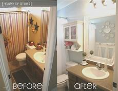 Bathroom Pictures Before And After by 15 New Small Rv Remodel Before And After Creative Maxx