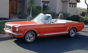 1965 FORD MUSTANG GT CONVERTIBLE  16173