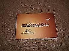 free car manuals to download 1999 oldsmobile silhouette user handbook 1999 oldsmobile silhouette factory original owners manual instruction book nice ebay