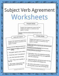 subject verb agreement compound subjects worksheets english language arts worksheets teaching resources