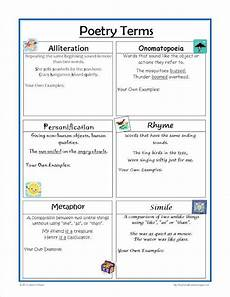 poetry elements worksheets 25266 19 best images about poetry resources on the smalls activities and student centered