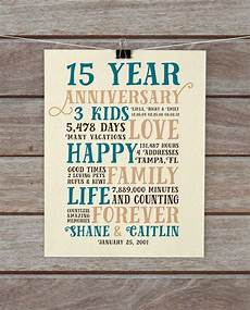 Ideas For 15 Year Wedding Anniversary anniversary gifts 15 year anniversary present for him