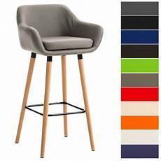 Tabouret De Bar Design Grant Similicuir Chaise Haute De