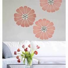 Lovely Bloom Wall Stencil Medium Floral Stencils