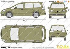 Ford Galaxy Abmessungen - the blueprints vector drawing ford galaxy