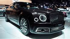 bentley mulsanne 2018 in detail review walkaround interior exterior youtube