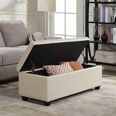 belleze modern elegant ottoman storage bench best cheap