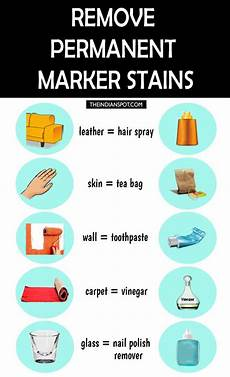 ways to remove permanent marker stains from anything best tips remove permanent marker