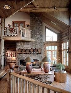 Wohnideen Aus Holz - wohnzimmer rustikal gestalten teil 2 archzine net
