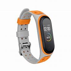Bakeey Replacement Silicone Band Xiaomi by Smart Accessories Bakeey Dual Color Silicone