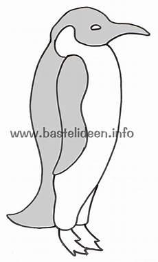 Bastelvorlage Pinguin Papier - kostenlose bastelvorlagen kostenlose malvorlagen pinguin