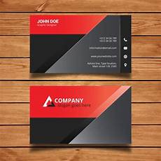 ad business card template 35596 and black modern business card template vector free